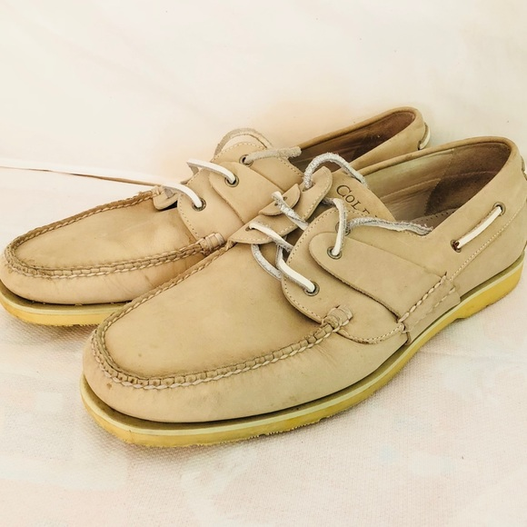 2f1721e5b4c1 Cole Haan Other - Men Cole Haan Casual Boat Shoes Vibram Tan Leather